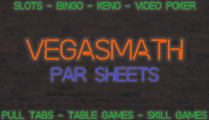 VegasMath PAR Sheet Neon Sign